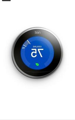 Nest Learning Thermostat 3rd Generation, Works with Google