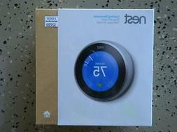 nest learning thermostat t3007es 3rd gen stainless