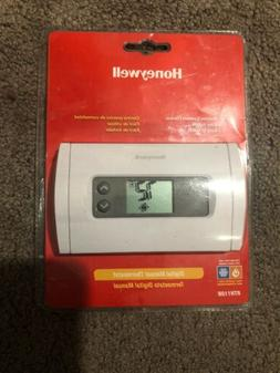 New!! HONEYWELL Digital Manual THERMOSTAT Heating And Air Co