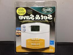 New Hunter Heat Cool 47110A Electronic Thermostat Digital Di
