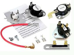 New Whirlpool Kenmore Sears Dryer Fuse Thermostat Kit
