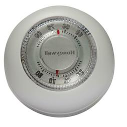 NEW!!  HONEYWELL Round White 24-Volt 1 Stage Heat Only Wall