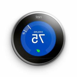NEW Nest  Learning Thermostat, Easy Temperature Control for