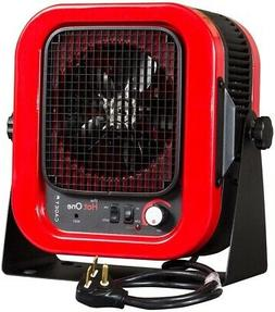 electric garage heater 5000w automatic shutoff thermostat