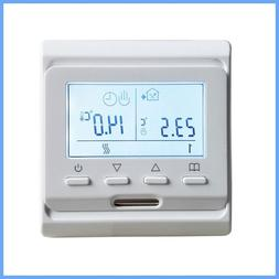 Programmable Digital Electric Thermostat Floor Heating Contr
