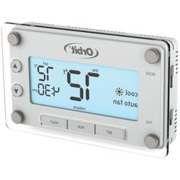 Programmable Thermostat Clear Comfort with Large Easy-to-Rea