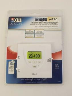 Lux programmable thermostat