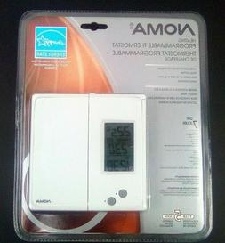 programmable thermostat lcd display triac system energy
