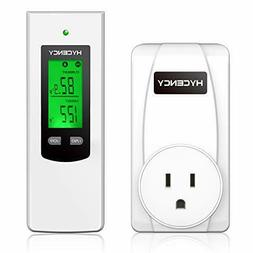 Hycency Programmable Thermostat Outlet Heating & Cooling Plu