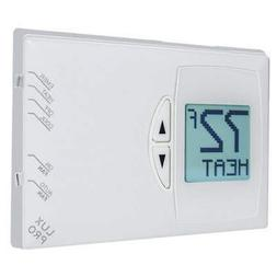 LUX PSDH121B Thermostat,Stages Heat 2,Stages Cool 1