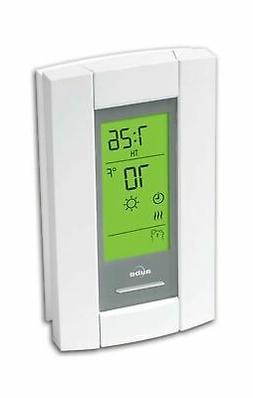 radiant heating programmable thermostat