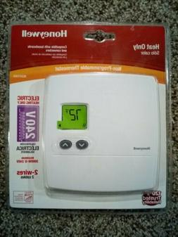 Honeywell RLV3100 Non-programmable Thermostat HEAT ONLY 240v