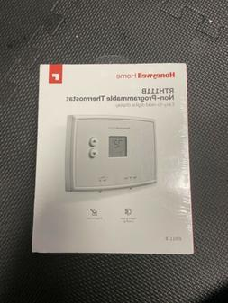 Honeywell RTH111B Digital Non-Programmable Thermostat - Whit