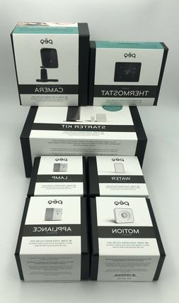 NEW PEQ Smart Home Security System K Camera Thermostat Motio