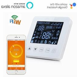 Smart Voice Remote WiFi Digital Thermostat Programmable for