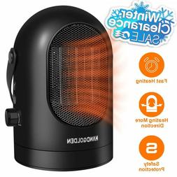 Space Heater With Thermostat Adjustable For Home And Office