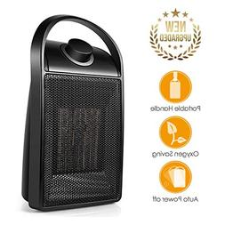 Space Heater, Quiet Personal Mini Electric Ceramic Heater, O