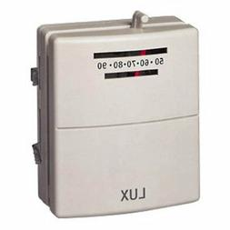 Lux Standard Heat and Cool Thermostat, White