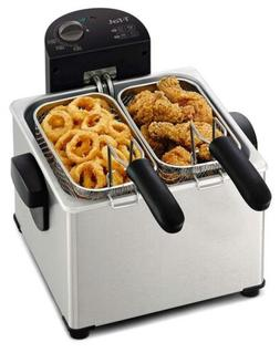 T-fal FR3900 Deep Fryer, Electric Stainless Steel Triple Bas
