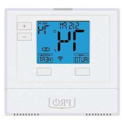 PRO1 IAQ T701i WiFi Thermostat, 7 Day Programmable, Stages 1