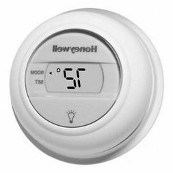 Honeywell Digital T8775A1009 Round Non-Programmable Heat-Onl