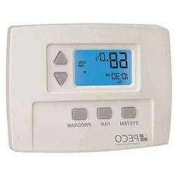 Peco TA180-001 3 Speed Fan Programmable Thermostat, 1H/1C, L