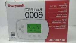 Honeywell TH6110D1005 Programmable Thermostat FocusPRO 6000