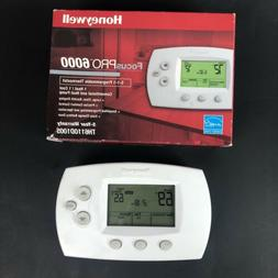 Honeywell TH6110D1005 FocusPRO 6000 Programmable Thermostat,