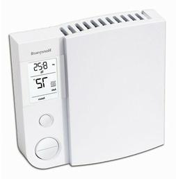 Honeywell Baseboard Programmable Thermostat Backlit Display