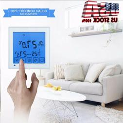 Thermostat Controller LCD Programmable Electric Floor Water