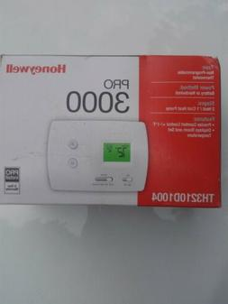 Thermostat Honeywell Heat Pump Pro 3000 TH3210D1004