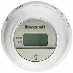 Thermostat Round Digital Honeywell T8775C 1005 HVAC AC Cool