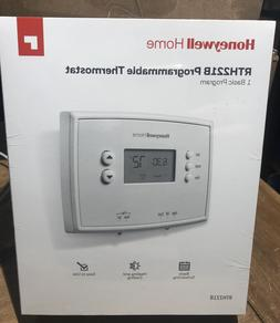 thermostat rth221b1039 1 week home programmable digital