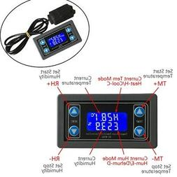 Thermostat Temperature Humidity Controller LCD Display SHT20