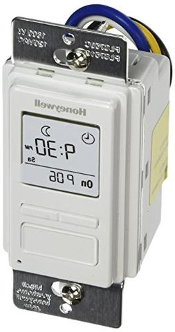 Honeywell Timer Switch with Sunrise Sunset Single or 3 Way P
