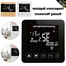 Touch Screen Programmable Temperature Regulator Heating Ther