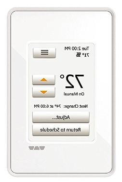 Ditra Heat Touchscreen Programmable Floor Heating Thermostat