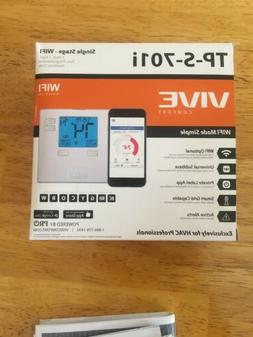 Vive TP-S-701i Single Stage Non-Program Thermostat 1 Heat 1