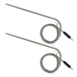 "Two Pack Cooking Thermometer 7"" Probe Replacement with 40"" w"
