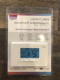 Lux Products TX9100U 7 Day Programmable Thermostat *New*