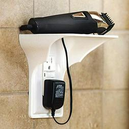 Gotian Ultimate Wall Outlet Shelf Power Perch, Easy Installa