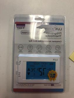 Lux universal 7-Day Programmable Touchscreen Thermostat
