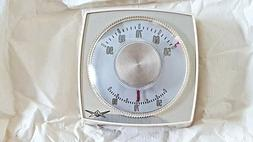 Vintage Flair Heat Only 3 Wire Low Voltage Thermostat NOS