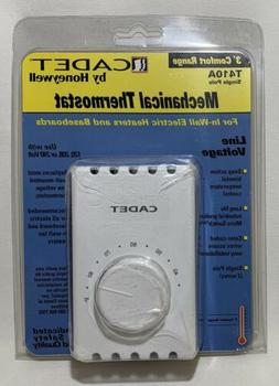 WH Single Pole Thermostat ~ Cadet 08121 ~ 2 Pack ~ New