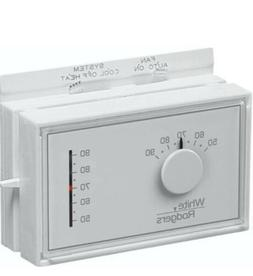 White Rodgers 1F56N-444 Mercury Free Mechanical Thermostat,
