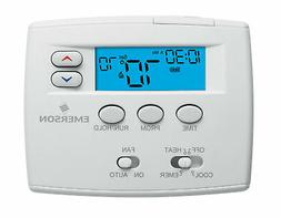 "White-Rodgers 1F82-0261 White Emerson Blue 2"" Programmable H"