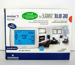 """White Rodgers 1F97-1277 Big Blue 12"""" Touchscreen Thermostat"""