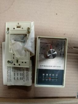 WHITE RODGERS ~ LOW VOLTAGE COOLING THERMOSTAT Model 1E31-91