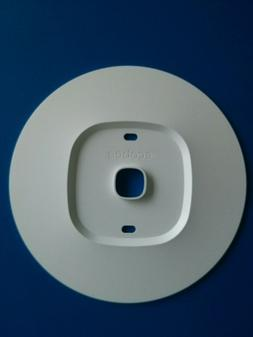 White Wall Plate Bracket Round Cover For Ecobee3 lite Smart