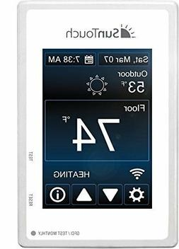 wifi enabled touchscreen programmable thermostat model 50087